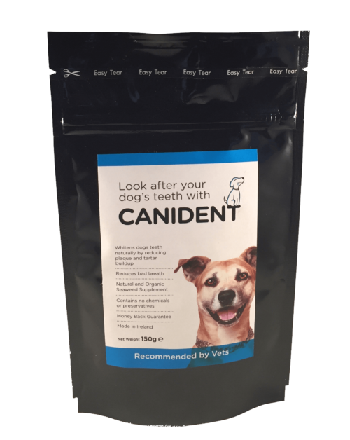 Canident - the natural tooth cleaner for dogs