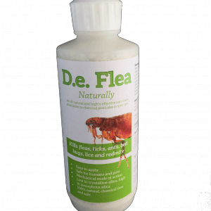 DeFlea natural flea killer for dogs