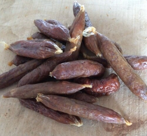 pork sausages for dogs