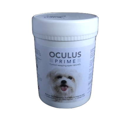 Oculus prime for weepy eyes in dogs