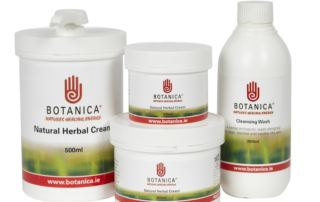 a range of botanica products